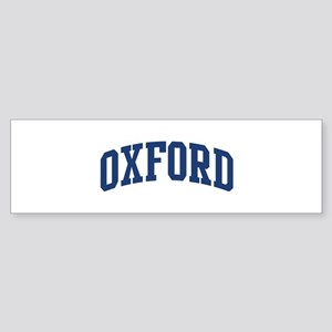 OXFORD design (blue) Bumper Sticker