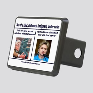 Clintons - Two of a kind Rectangular Hitch Cover