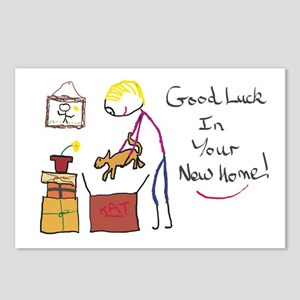 Good Luck New Home Postcards (Package of 8)