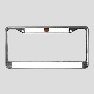 Pirates Treasure Chest License Plate Frame