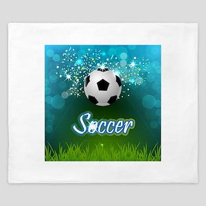 Soccer creative poster King Duvet