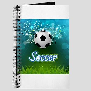 Soccer creative poster Journal