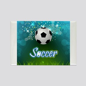 Soccer creative poster Magnets