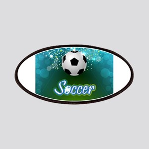 Soccer creative poster Patch