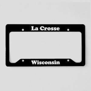La Crosse WI License Plate Holder