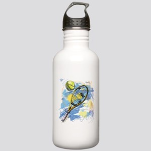 Hand drawn with graffi Stainless Water Bottle 1.0L