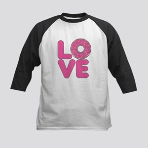 Donut Love Strawberry Baseball Jersey