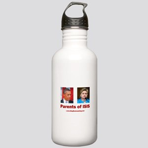 Obama/Hillary - Parent Stainless Water Bottle 1.0L