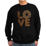 Donut Love Chocolate Sweatshirt