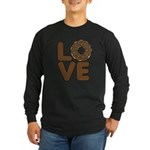 Donut Love Chocolate Long Sleeve T-Shirt