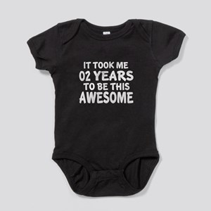 02 Years To Be This Awesome Baby Bodysuit