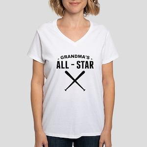 Grandmas All-Star Baseball T-Shirt