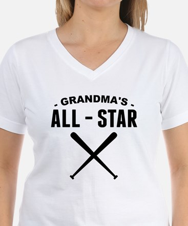 Grandmas All-Star Baseball T-Shirt
