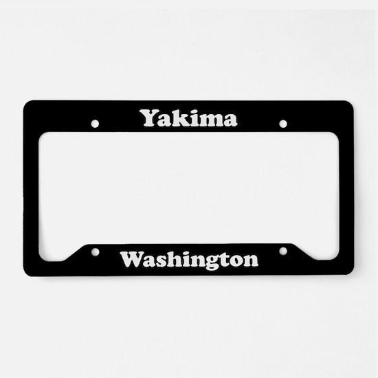 Yakima WA License Plate Holder