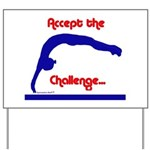 Gymnastics Yard Sign - Challenge