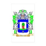 Valenti Sticker (Rectangle 50 pk)
