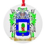Valente Round Ornament