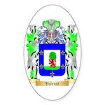 Valente Sticker (Oval 50 pk)