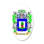Valente 35x21 Oval Wall Decal