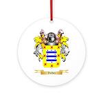 Valdez Round Ornament