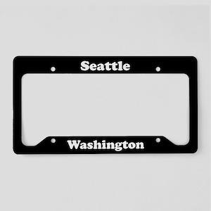 Seattle WA License Plate Holder