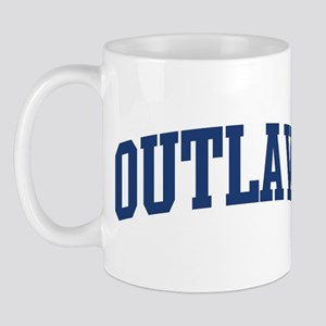 OUTLAW design (blue) Mug