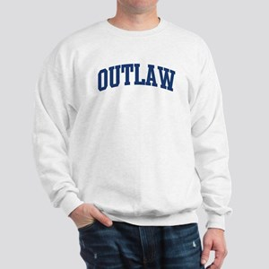 OUTLAW design (blue) Sweatshirt