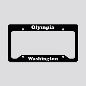Olympia WA License Plate Holder
