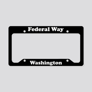 Federal Way WA License Plate Holder
