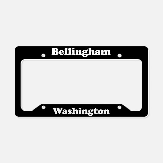 Bellingham WA License Plate Holder