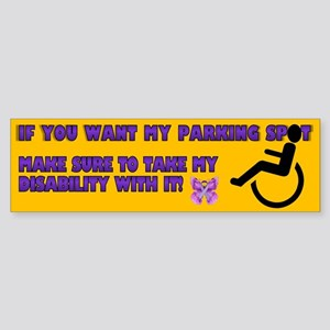 Parking 1 (bumper) Bumper Sticker