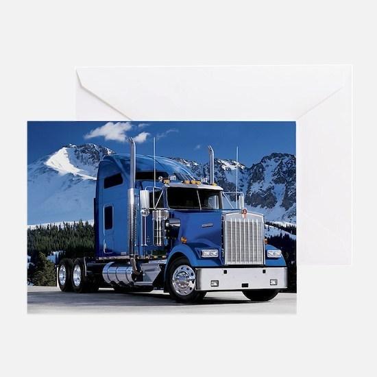 Trucking Greeting Card