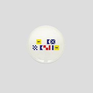 I am Nauti Mini Button