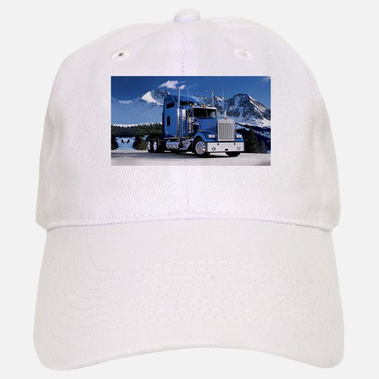 Mountain Blue Kenworth Baseball Baseball Cap