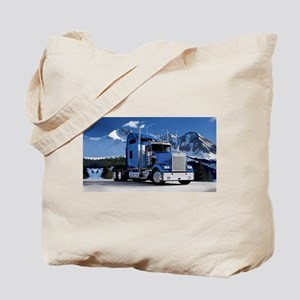 Mountain Blue Kenworth Tote Bag