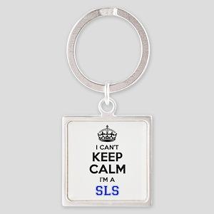 I can't keep calm Im SLS Keychains