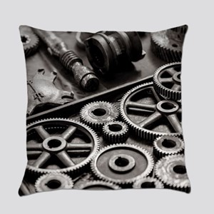 Gears Everyday Pillow