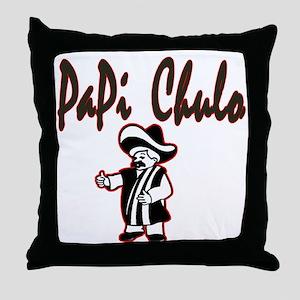 PaPi Chulo Throw Pillow