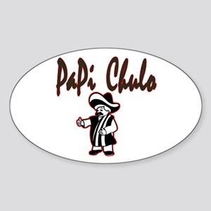 PaPi Chulo Oval Sticker
