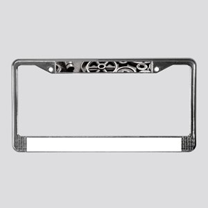 Gears License Plate Frame