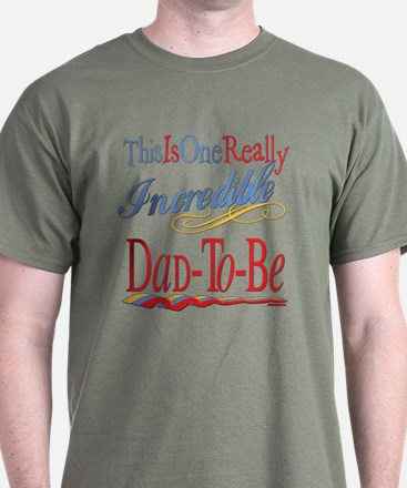 Incredible Dad-To-Be T-Shirt