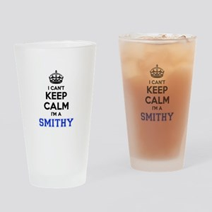I can't keep calm Im SMITHY Drinking Glass
