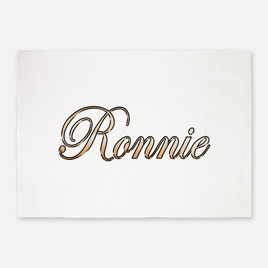 Gold Ronnie 5'x7'Area Rug