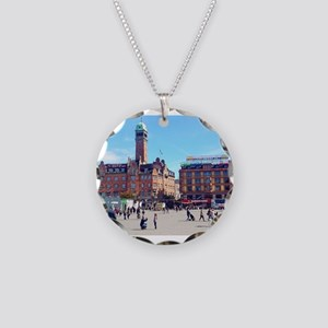 Copenhagen Square Necklace