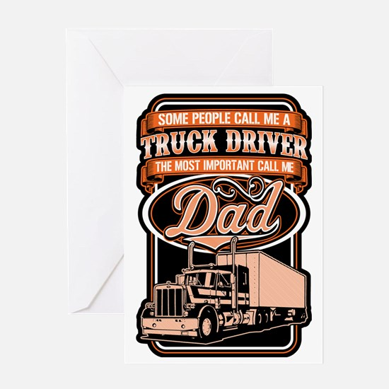 Unique Trucking Greeting Card