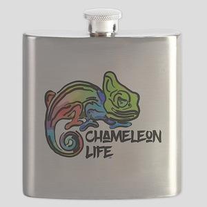 Chameleon Life Flask