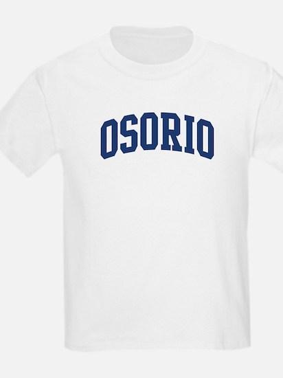 OSORIO design (blue) T-Shirt