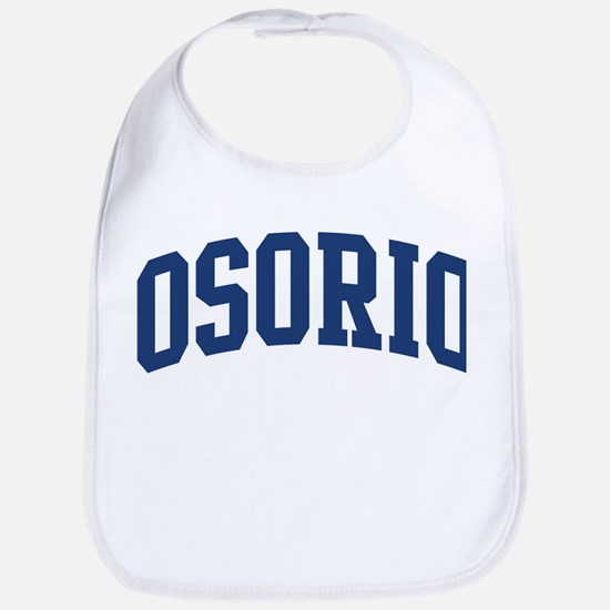 OSORIO design (blue) Bib