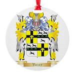 Vaizey Round Ornament