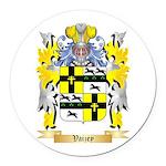 Vaizey Round Car Magnet